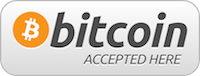 Bitcoin Accepted here Logo Aigle 2015