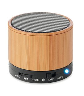 Altavoz bambú red. Bluetooth
