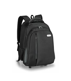 Laptop trolley backpack.