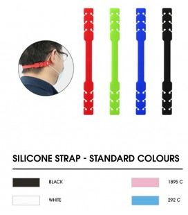 Silicone Mask comfort strap