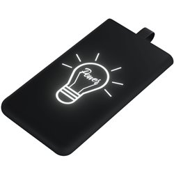 SCX.design P06 light-up 3000 mAh bateria externa retroiluminada