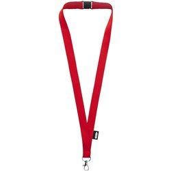 "Lanyard de PET reciclado con cierre independiente ""Tom"""