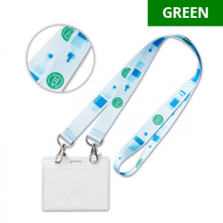 ML1316 - Lanyard de PET...